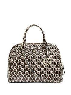 ad0ba45bef G Cube Dome Satchel Guess Handbags