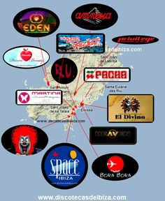 [All roads lead to there] Best Clubs in Ibiza