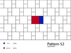 Click on each pattern to get percentages needed to complete each pattern as well as tile series suggestions and photo examples. All patterns can be printed from our Pattern Book at this link:Pattern Book.