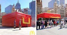 McDonald n'a pas fini de nous surprendre avec ses opérations marketing à travers le monde, toutes autant surprenantes les unes que les autres!