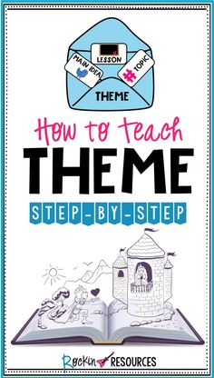 Are your students having trouble identifying theme within a story? This step-by-step process scaffolds through several reading comprehension skills to help students get a thorough understanding of theme.
