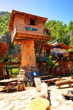 Tree houses in Turkey! Quite the adventure *Expat Explore South Africa*