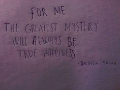 .True! For me it is mystery.....