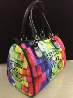 Multicolored Digital Print Hand bag for only 1049/-
