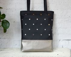 Купить Сумка-пакет с пайетками - сумка на каждый день, handmade bag, сумка хендмейд купить