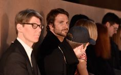 Who's That? The Most Surprising Front Row Appearances During Fashion Month - Bradley Cooper-Wmag
