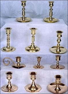 Brass Candle Stands