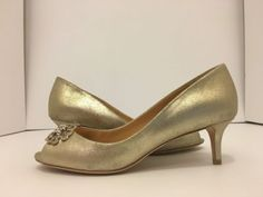 ba8d2b1b8ddf Badgley Mischka Sensation II Platino Metallic Suede Women s Evening Heels  Pump 6