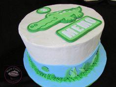 Pastel cocodrilo, crocodile cake