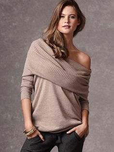 $59.50 Multi-way Tunic Sweater #VictoriasSecret http://www.victoriassecret.com/clothing/all-sweaters/multi-way-tunic-sweater?ProductID=77596=OLS?cm_mmc=pinterest-_-product-_-x-_-x