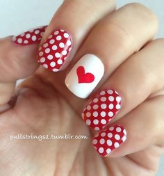 30 Incredible Valentines Day Special Nail Art That will Enhance Your Beauty.