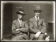 Portraits de criminels australiens dans les années 1920 photo police sydney australie mugshot 1920 01