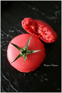 Macarons Salés : Crème de Thon et Tomate Séchée