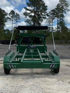 Roll Off Dumpster Trailers For Sale American Made 904 305 7534 Cedar Manufacturing In 2020 Roll Off Dumpster Trailers For Sale Dumpster