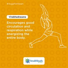 Pep up the circulation of blood throughout your body and get energized like never before. #YogaForHeart #WorldHeartDay