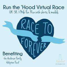 Race to Forever Virtual 5K/10K/Mile Run