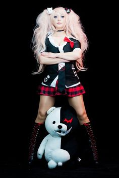 Thank you so much for your  for my birthday I can feel in my heart your love  Thank you for all your support!   Here another photo of #Junko from Danganronpa #queenofdespair