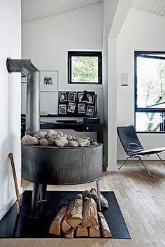 wood stove by the style files, via Flickr