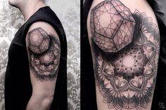 Chaim Machlev (Dots to Lines) Tattoo