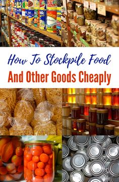 How to Stockpile Food and Other Goods Cheaply - Stockpiling can be an enormously expensive task if you go about it in the wrong way. Even if you're doing all that you can to keep costs down, if you're stockpiling for a big family, it can still be exceptionally pricey to get your stockpiles to where you'd like them to be.