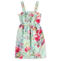 Large Portobello Linen Blend Strap Dress | Dresses | CathKidston