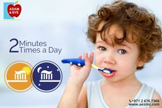 Brush your teeth twice a day for two minutes with fluoride toothpaste. Remember, replace your toothbrush every three or four months, or sooner if the bristles are frayed. A worn toothbrush won't do a good job of cleaning your teeth. .