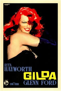 Gilda (Italian) 27x40 Movie Poster (1946)