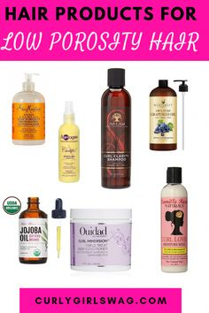 Find out the best hair products for low porosity hair. #hairproducts #hair #products #for #kids #CoconutOilHairCare Natural Hair Growth Tips, Best Natural Hair Products, Natural Hair Regimen, Natural Hair Styles, Black Hair Products, Beauty Products, Natural Beauty, Low Porosity Hair Products, Hair Porosity
