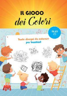 Il libro per bambini con il gioco dei colori. Tanti bellissimi disegni e figure da colorare con i tuoi pastelli o i tuo pennarelli. Divertiti con i tuoi amici, da solo oppure con i tuoi genitori. Passerai ore di relax e divertimento assicurato. Un gioco senza tempo, come tanto tempo fa, no videogames, tutta un'altra storia! Adatto per bambini da 4-5-6 anni in su che amano colorare e adorano la fantasia. #librogioco #librigioco #libriperbambini #libridacolorare #colorare #libropercolorare
