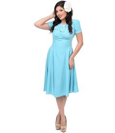 Vintage Inspired 1940s Plus Size Dresses photo picture