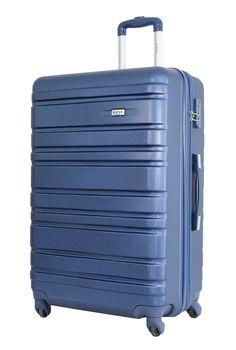 Qualité Bagage 4 Roues Valise Sac De Voyage MARRON Extensible Flexible Coquille Dure PC Trolley - Solar (L) dGGdIk