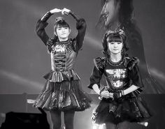 BabyMetal Black and White