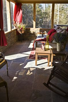 Rustic Three Season Porch
