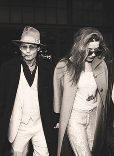 Johnny Depp: A Lady's Best Accessory http://intothegloss.com/2014/05/johnny-depp-girlfriends/