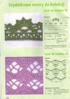 Esquema Diagrama Patron Punto Crochet Ganchillo
