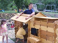 Builder Boards ~ $1500. Such a great idea: Let the kids build their own play house -- or whatever!