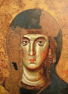 Museo civico. Viterbo. Byzantine Art, Art Icon, Orthodox Icons, Religious Art, Virgin Mary, Pet Birds, Fresco, Madonna, Catholic