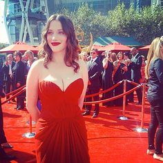 InStyle Instagrams the 2012 Emmys: Kat Dennings #Emmys http://news.instyle.com/photo-gallery/?postgallery=139958#