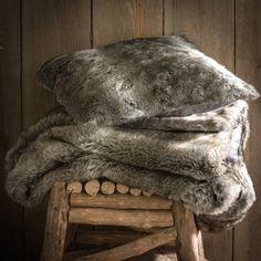 Capa de almofada estilo pelo bazso La Redoute Interieurs | La Redoute