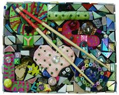 mosaics with junk - Google Search
