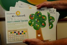 Fruit and Veggie Trackers used in elementary schools in St. Paul, Minneapolis, and St. St Cloud, New Program, How To Eat Better, Nutrition Education, Fruits And Veggies, Minneapolis, Healthy Habits, Elementary Schools, Minnesota