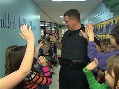 Town puts police officers in schools at no cost to taxpayers. Amazing what a town can do if they really just stop and think. This should be happening all over our country!