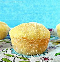 Lemon Yogurt Sugar Muffins