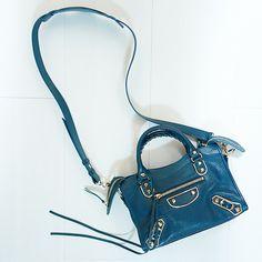 BALENCIAGA Classic Mini City Metallic Edge bag | instagram: @quennandher | https://instagram.com/quennandher