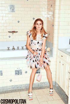 Olivia Palermo in Cosmo #Olivia_Palermo #Fashion #Women_Style