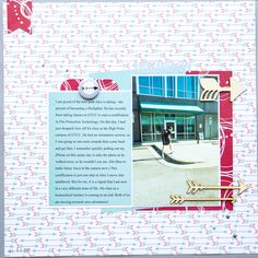 Ideas for Scrapbook Page Storytelling with the Arrow Motif   Kelly Sroka   Get It Scrapped