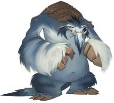 """Yeti"" of Wildstar MMORPG // Art Design"