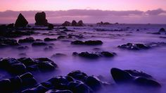 Photo: New Zealand night scene Places Around The World, Oh The Places You'll Go, Places To Visit, Around The Worlds, Enya Music, Beautiful Islands, Beautiful Places, Beautiful Scenery, Amazing Places
