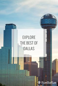 Explore top things to do in Dallas, Texas.