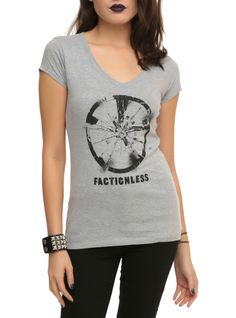 Insurgent Factionless Girls V-Neck T-Shirt | Hot Topic | XL | $18